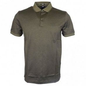 Prout 10 Regular Fit Khaki Green Polo