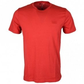 50378595 Dero Cotton Round Neck Red T-Shirt