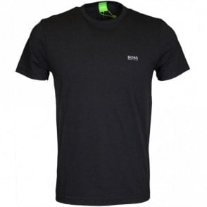 Tee Cotton Round Neck Black T-Shirt
