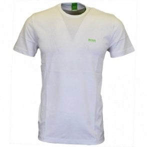 Tee Cotton Round Neck White T-Shirt