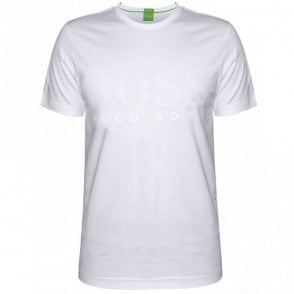 Tee US Rubberised Cotton White T-Shirt