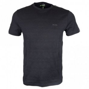 Teep 3 Cotton Slim Fit Black T-Shirt