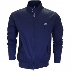 BH6255 Marine Blue Harrington Jacket