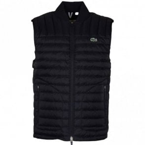 BH9645 Quilted Lightweight Black Gilet