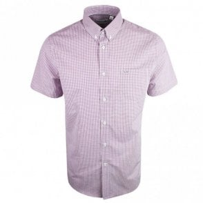 CH3972 Regular Fit Pink Short Sleeve Shirt