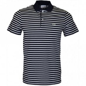 DH4976 Regular Fit Stripe Navy Polo