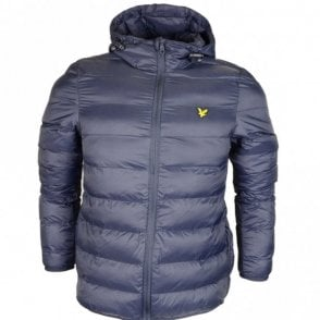 Lightweight Puffer Nylon Dark Navy Jacket
