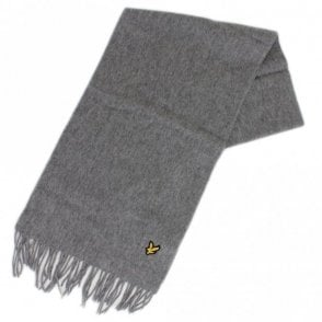 SV311A Lambswool Grey Scarf