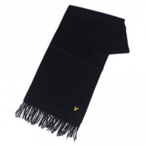 SV311A Lambswool Navy Scarf