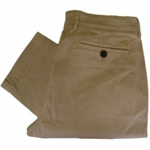 TR405V Slim Fit Cotton Beige Chino