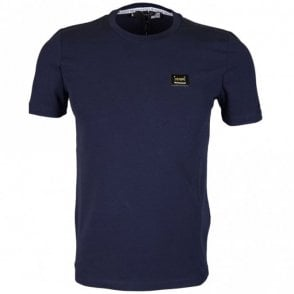 M473182E1811 Love Moschino Slim Fit Navy T-Shirt