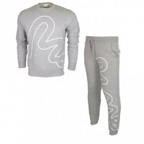 Big Sig Crew Neck Grey Tracksuit