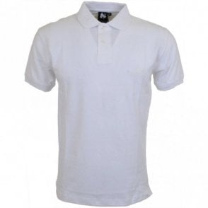 Embossed Sig Ape Classic White Polo