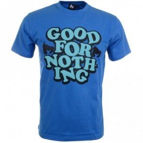 Good For Nothing Blue T-Shirt
