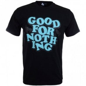 Good For Nothing Jet Black T-Shirt