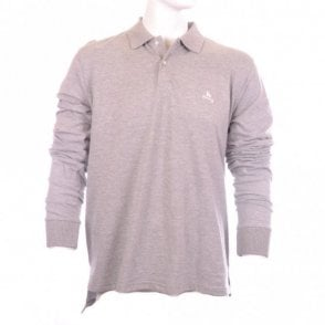 Grey Full Sleeve Polo