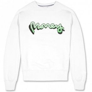 J25001 Sig Ape Shadow White Sweatshirt