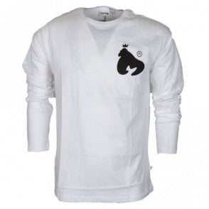 JT2611 Thing Long Sleeve White T-Shirt