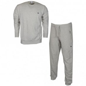 TS2601 Zamac Basic Cotton Grey Tracksuit