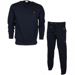 TS2601 Zamac Basic Cotton Navy Tracksuit
