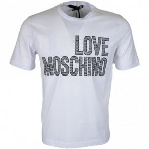 M47321NM3876 Cotton Printed Logo White T-Shirt