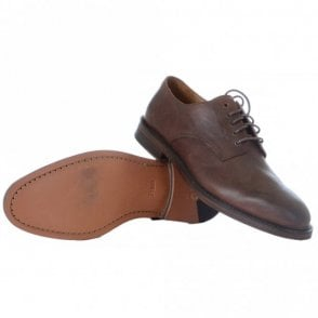 Newent Brown Leather Shoe