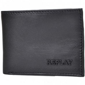FM5103 Bifold Coin Holder Black Wallet