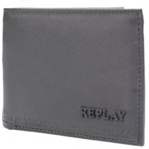 FM5111 Leather Black Wallet