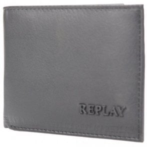 FM5117 Leather Coin Holder Black Wallet