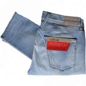 Hyperflex Anbass Stretch Light Wash Blue Jeans