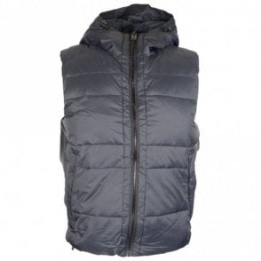 Quilted Black Gilet