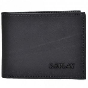 Trifold Black Wallet