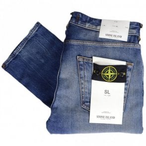 6715J1BM4 Slim Used Wash Jeans
