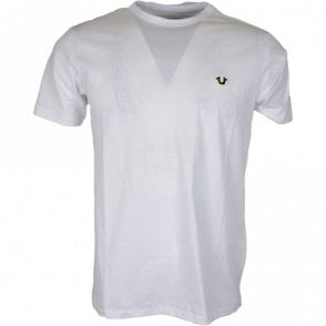M16UT90Y1G Metal Logo White T-Shirt