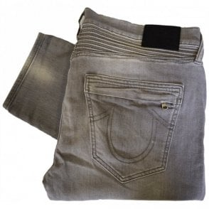 Rocco Moto DCOM Faded Slate Grey Jeans