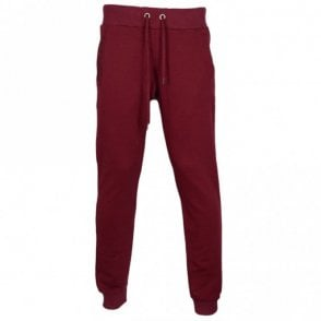 A2GQB1FE Jeans Cotton Burgundy Bottoms