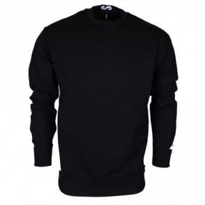 BU90500 BJ20643 Round Neck Black Sweat
