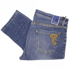 Collection Slim Fit Mid Wash Jeans
