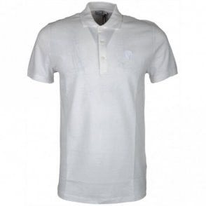 Collection V800543A Medusa Plain White Polo