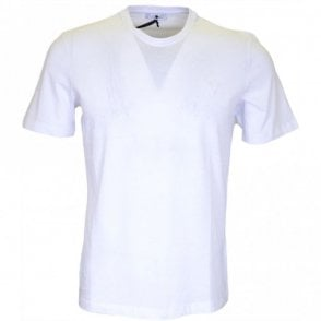 Collection V800683 Round Neck Basic White T-Shirt