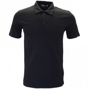 Collection V800708 Plain Black Polo