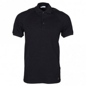 Collection V800729 Pique Black Polo