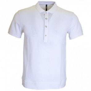 Versus BU90222 White 4-button Polo