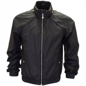 Versus Zip Polyester Black Jacket