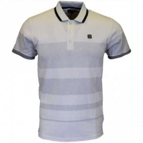 Links Dot White Polo