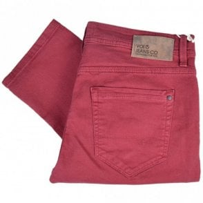 LJ 1250 Super Slim Wine Red Jeans