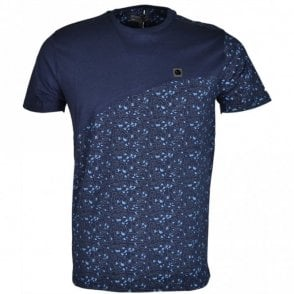 Prime Printed Navy T-Shirt