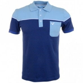 Stiller Cotton Dazzling Blue Polo
