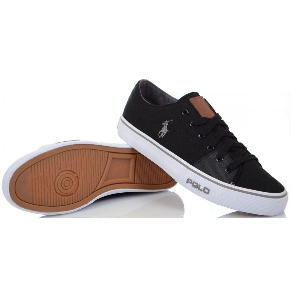 Ralph Lauren Shoes Cantor Low-NE Black