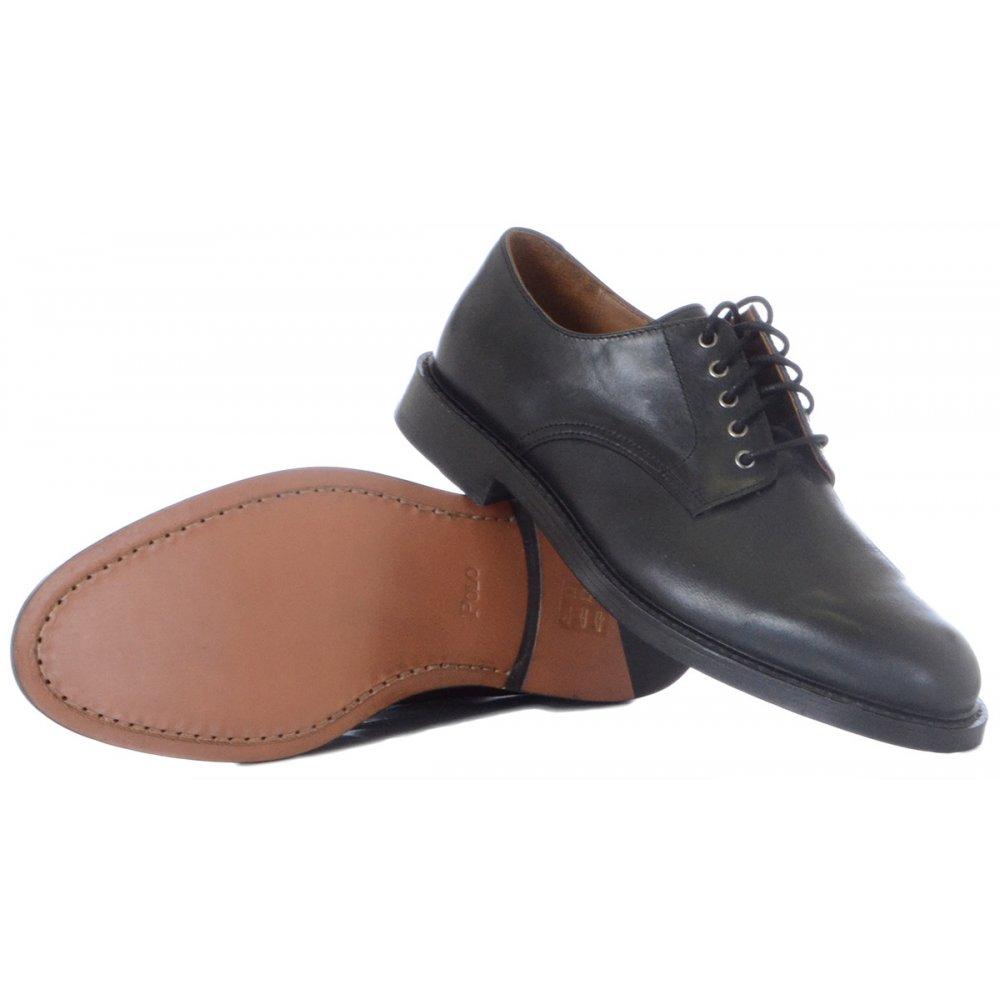 95cbf673048 Ralph Lauren Shoes Newent Black Leather Shoe - Footwear from N22 ...